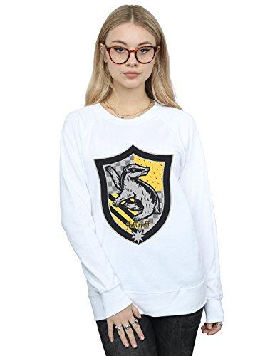 Crest D'entraînement Harry Femmes Potter Blanc Chemise Pour Plate Poufsouffle Et 68qv8xPw