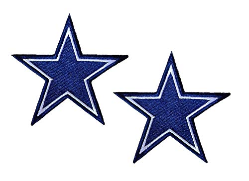 - Dallas Cowboys Football Team Logo Iron on Football Jersey Hat Patches