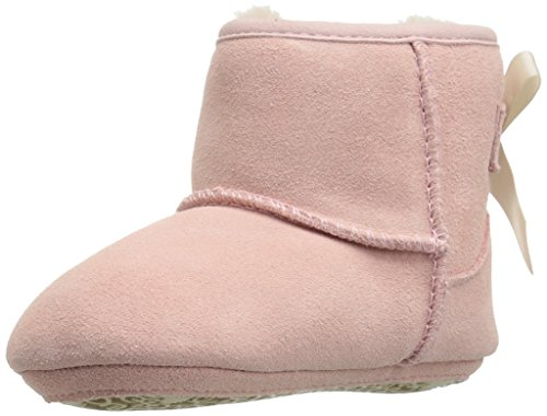 UGG girls I Jesse Bow II Fashion Boot, Baby Pink, 4/5 M US Infant -