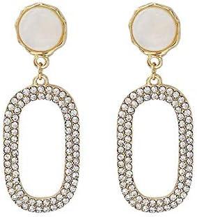 BXU-BG 完全なダイヤモンドのイヤリング人格のファッションイヤリングイヤリング女性のシニア感覚フレンチニッチレトロ