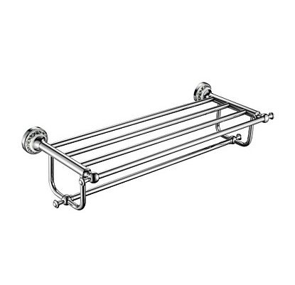 Towel Bar High Quality Contemporary Brass Stainless Steel Zinc Alloy 1 Pc Bathroom Double
