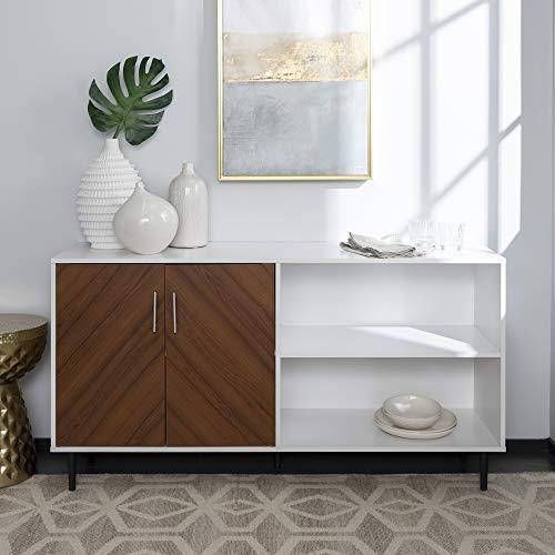 - WE Furniture AZ58BMHPASSW TV Stand, 58