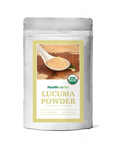 Healthworks Lucuma Powder Raw Organic, 8 Ounce