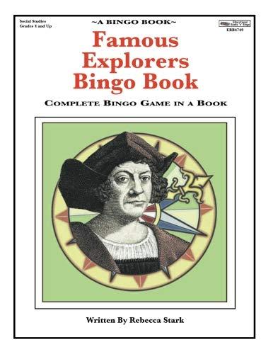 Famous Explorers Bingo Book: Complete Bingo Game In A Book (Bingo Books)