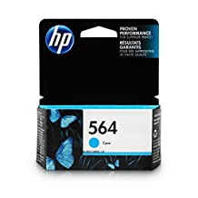 HP 564 Cyan Original Ink Cartridge (CB318WN)