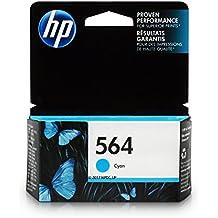 HP 564 Ink Cartridge Cyan (CB318WN) for HP Deskjet 3520 3521 3522 3526 Officejet 4610 4620 4622 Photosmart 5510 5514 5515 5520 5525 6510 6512 6515 6520 6525 7510 7515 7520 7525 B8550 C6340 C6350…