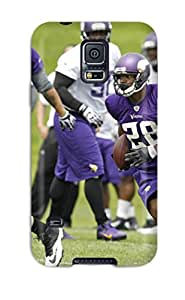 New Fashionable ZippyDoritEduard NpTEphr9985CLHbo Cover Case Specially Made For Galaxy S5(adrian Peterson Football )