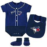 Toronto Blue Jays Newborn & Infant Royal Tiny Player Bib, Boodie & Bodysuit Set (6-9 months)