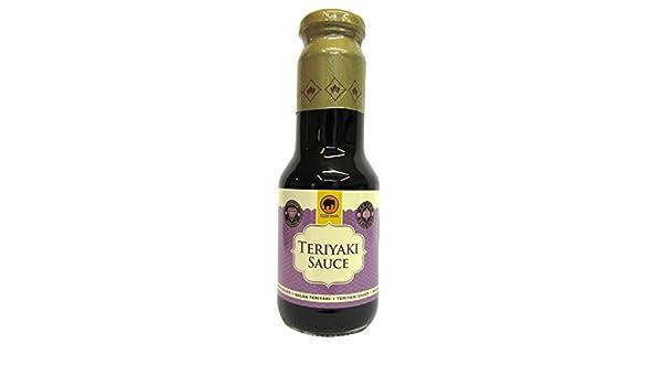 Tiger Khan Salsa Asiática Teriyaki - 300 ml: Amazon.es: Alimentación y bebidas