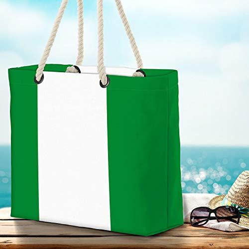 VOID XXL Strandväska Nigeria Nigerianer Shopper väska 58 x 38 x 16 cm 23 L Beach Bag Nigeria Nigerian