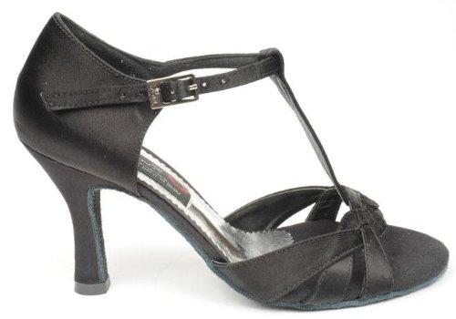 negro Zapatos color 3017 tacon es de 7 Reina Zapatos y complementos Amazon baile talla 41 SUzq8pwx