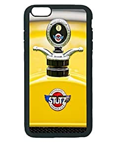 1923 Stutz Kldh Bearcat Hood Ornament ~ iPhone 6 Plus Black Rubber Tpu Case ~ Silicone Patterned Protective Skin Rubber Case Cover for Apple iPhone 6 Plus with 5.5 inch - Haxlly Designs Case