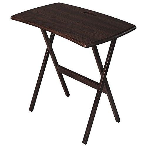 Manchester Wood Portable Folding Work and Laptop Desk - Espresso