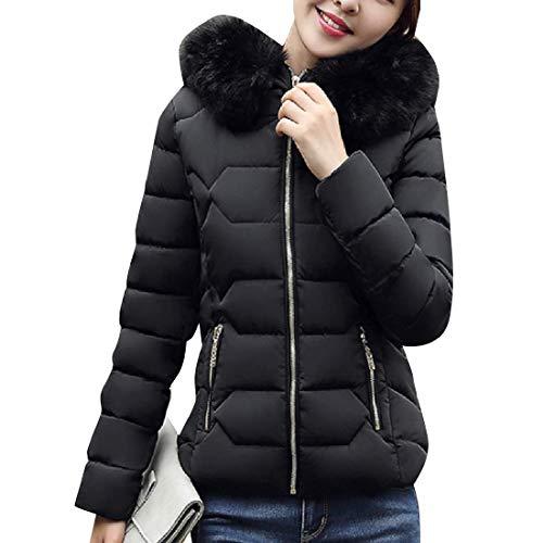 Winter Warm Nero Short Soprabito Capispalla Down Cotton Mini Women Parka Rkbaoye Rwpqa4f
