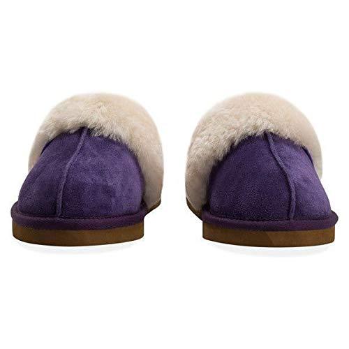 Ladies Redfoot Purple Sheepskin Mule Ladies Redfoot p1ZWnqF