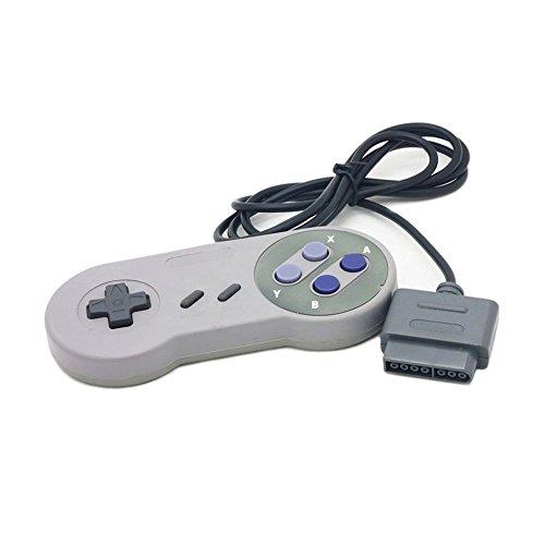 Generic Super Nintendo Entertainment System SNES Generic Controller Purple - Super Nintendo Original Console