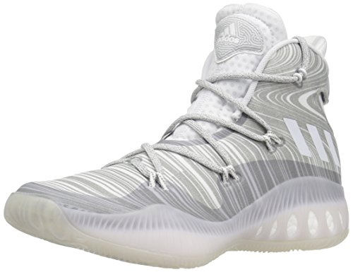 Adidas Performance Men's Crazy Explosive Basketball Shoe White/White/Mgh Solid Grey buy cheap footlocker finishline buy online outlet 3HRqgeREL