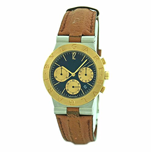 Bvlgari Diagono Chrono swiss-quartz mens Watch CH 35 SG (Certified Pre-owned)