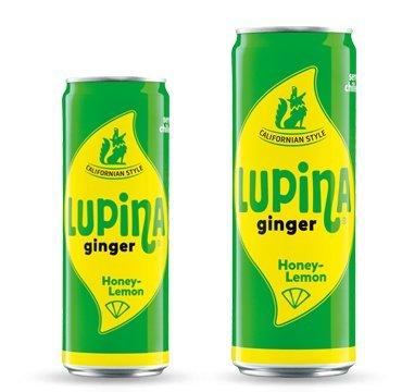 24 Dosen Lupina Ginger Lemonade Honey-Lemon 24 x 0,355l inkl. Pfand ...