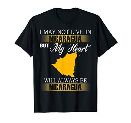 My heart will always be Nicaragua Shirt
