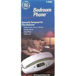GE Corded Bedroom Phone 2-9290