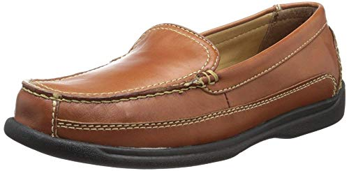 Dockers Men's Catalina Casual Slip-On, Saddle Tan - 9.5 W US
