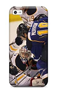 Durable Protector Case Cover With St-louis-blues Hockey Nhl Louis Blues (4) Hot Design For Iphone 5c