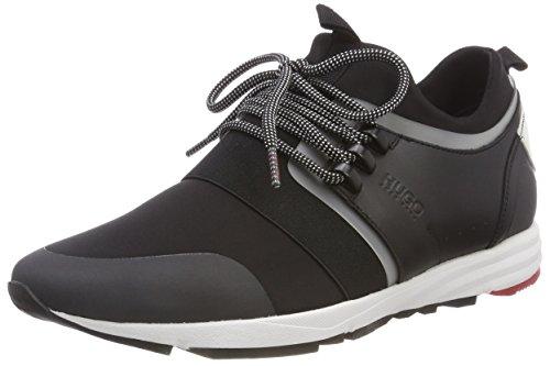 Hugo Damen Chaussure Running-n Hybride, Schwarz (001 Noir)