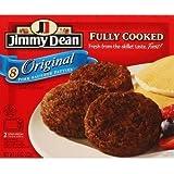 JIMMY DEAN PORK BREAKFAST SAUSAGE PATTIES ORIGINAL 9.6 OZ BOX PACK OF 2