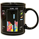 Tetris Heat Changing Ceramic Coffee Mug - Classic Video Game Themed Mugs