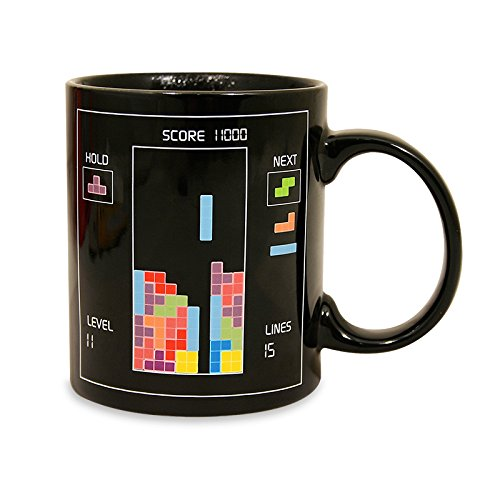 Tetris Heat Changing Ceramic Coffee Mug - Classic Video Game Themed Mugs Diamond Comic Distributors JUL121994