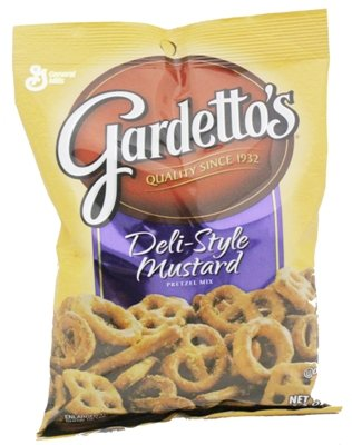 Gardettos Deli Style Mustard Pretzel Mix 14/5.5oz Review