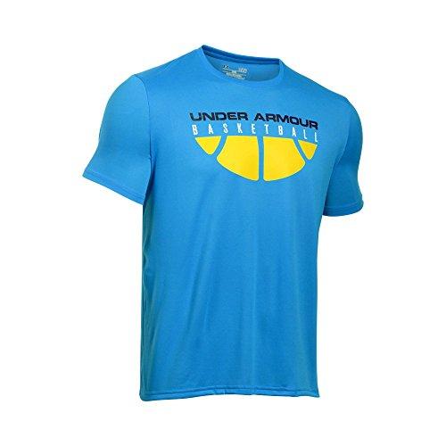 Navy Blue Basketball T-Shirt - 5
