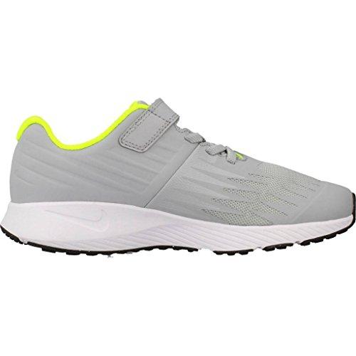 Nike Star Runner (PSV) 921443 002 Jungen Klettverschluss/Slipper Halbschuh Grau