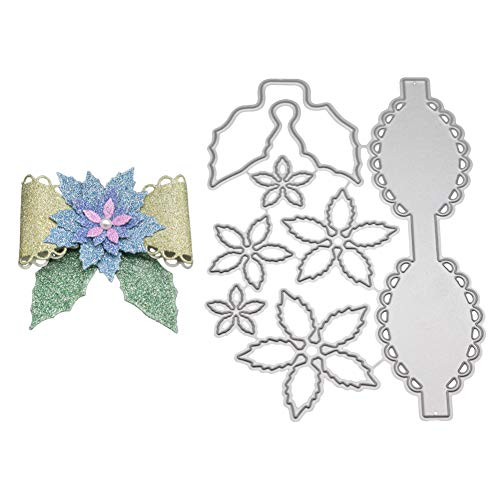 Leoie Cute Bowknot Pattern Carbon Steel Cutting Dies for DIY Scrapbooking