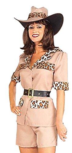 Forum Novelties Women's Totally Twosomes Safari So Goodie Costume, Multi, Standard ()