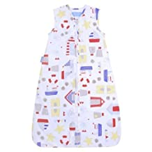 The Gro Company Sandcastle Bay Travel Grobag, 0-6 Months, 0.5 TOG by The Gro Company