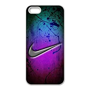 Printed Cover Protector iPhone 5, 5S Cell Phone Case Just Do It Dwiqh Unique Design Cases