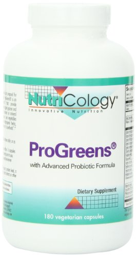(Nutricology Progreens, Vegicaps, 180-Count)