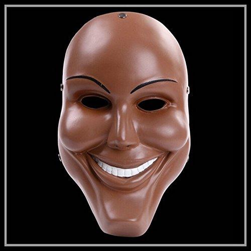 2318 nueva resina la purga Anarchy (dios máscara) película disfraz adulto niño disfraz Prop Mardi Gras Masquerade máscara para Cosp: Amazon.es: Hogar