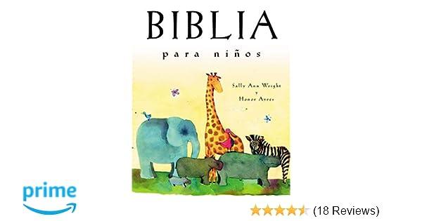 Biblia para niños: Edición de regalo (Spanish Edition): Sally Ann Wright: 9780718011390: Amazon.com: Books