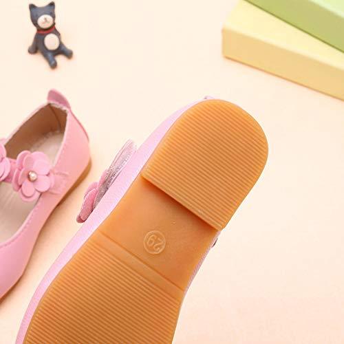Ragazze Bambino Scarpe Neonato Sandalo Del Rosa Bean Sticker Magic Scarpe Principessa Eleganti Sandali Fiore Zarupeng Scarpine Da Ballo BXw8rxXqOd