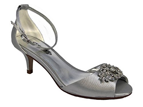 Sandales l4 Sko's Femme Pour Silver znqwAA1S