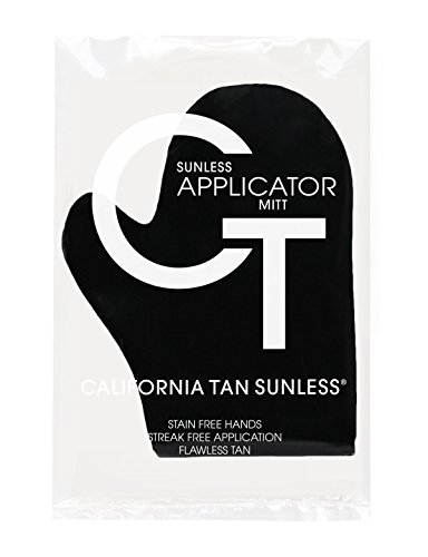California Tan Sunless Tanning Applicator Mitt For self tanner or lotions ()