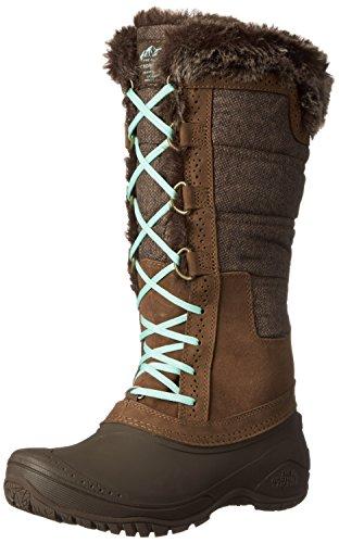 The North Face Womens Shellista II Tall Boot Desert Palm Brown/Surf Green Mhubz