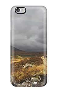 Defender Case For Iphone 6 Plus, Rainbow Earth Nature Rainbow Pattern