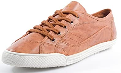 b95aaa63912b95 HEAD Modesport   Trekkingschuhe Damen -Sneaker in cognac aus Leder ...