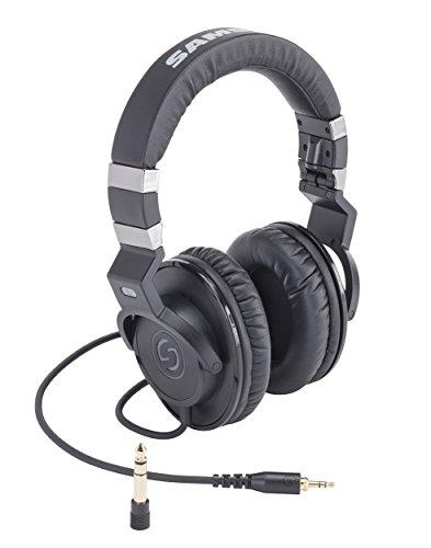 Samson Audio Studio Over-the-Ear Headphones Black SAZ35