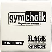 Gibson Athletic Premium Block Gym Chalk, 1Lb, Consists of (8) 2 oz Blocks, Magnesium Carbonate, Gymnastics, We