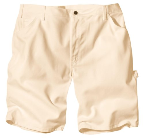 """Dickies Dx400 10"""" Relaxed Fit Utility Short-Natural-34"""